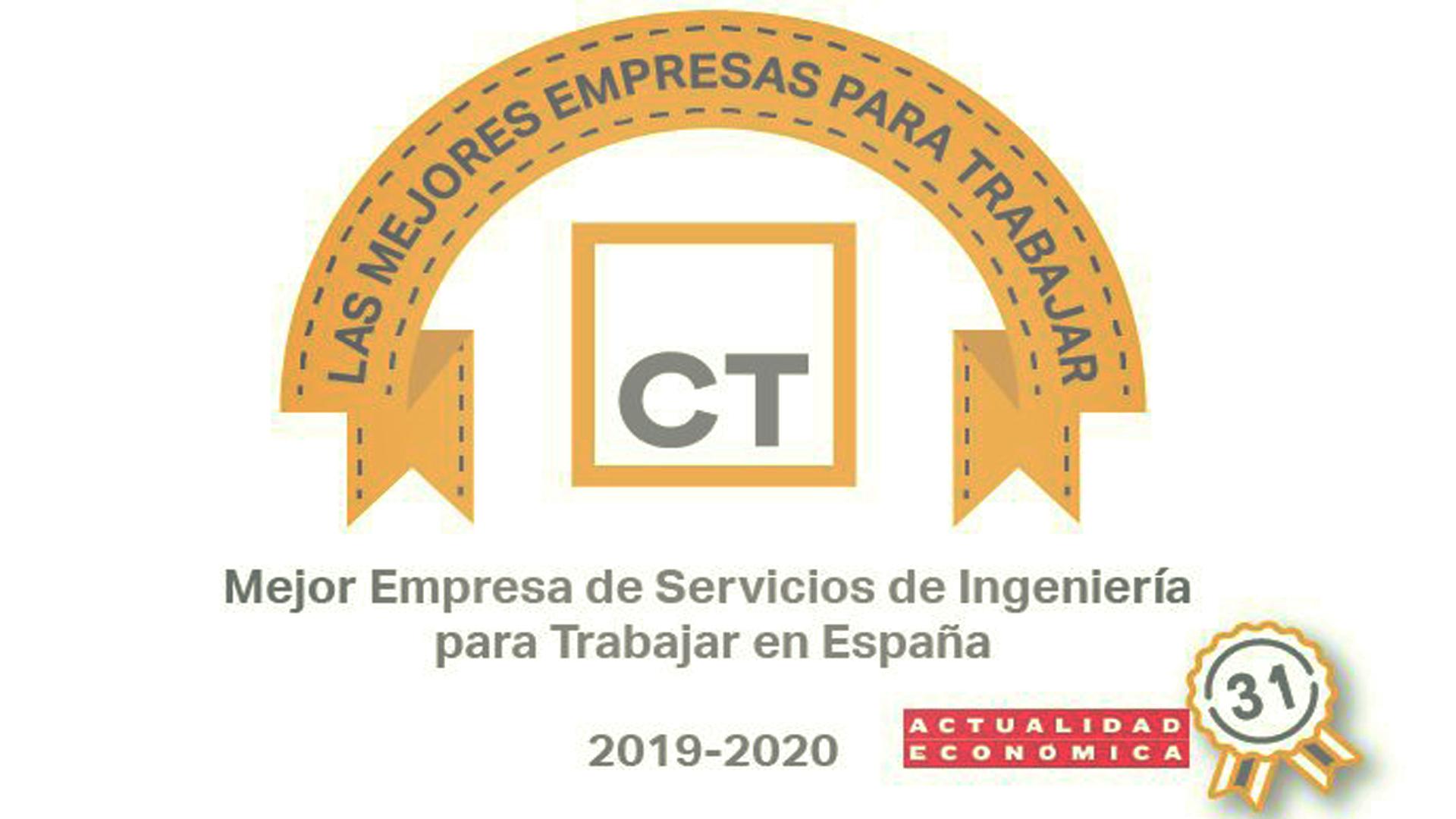 CT Engineering entre las Mejores Empresas para Trabajar en España