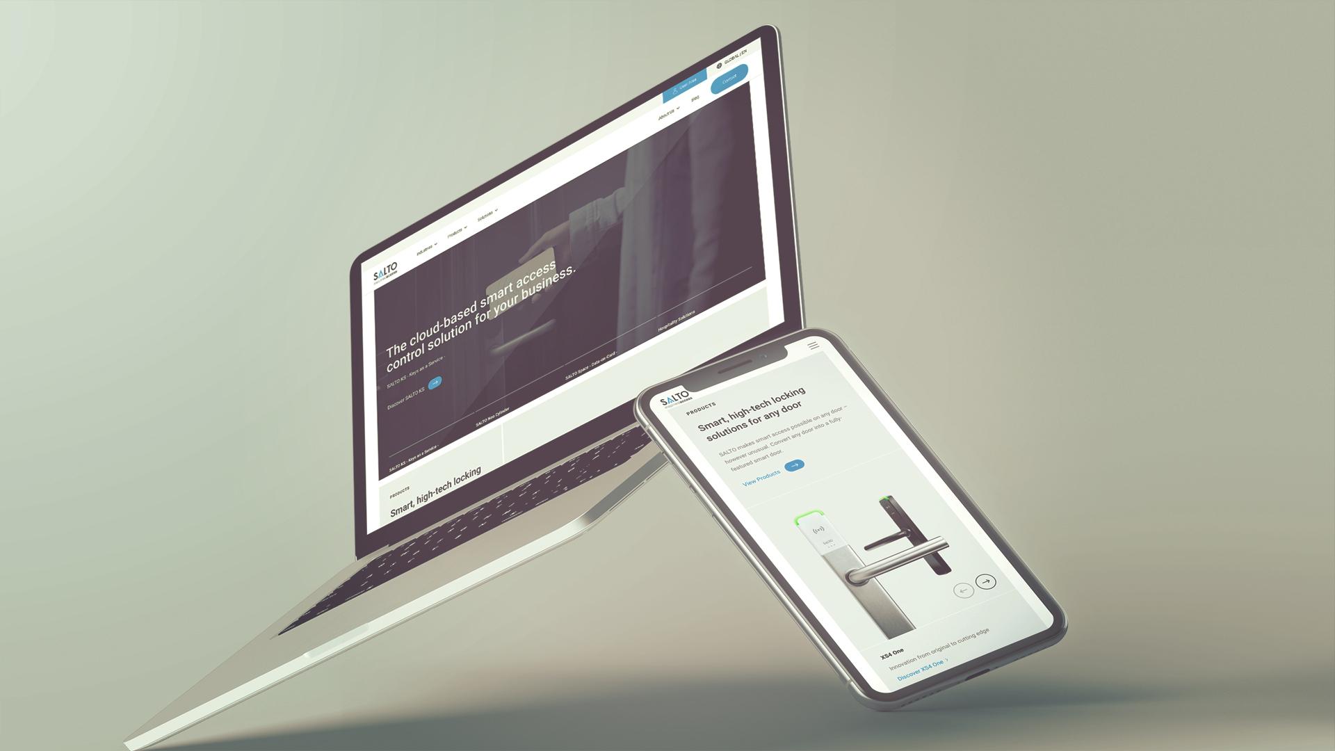 SALTO presenta un nuevo saltosystems.com