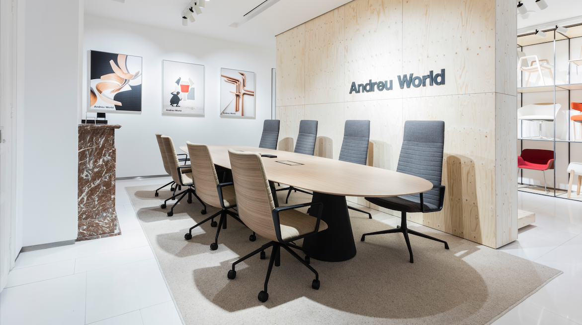 Andreu World reabre sus showrooms internacionales – Empresa CRE100DO