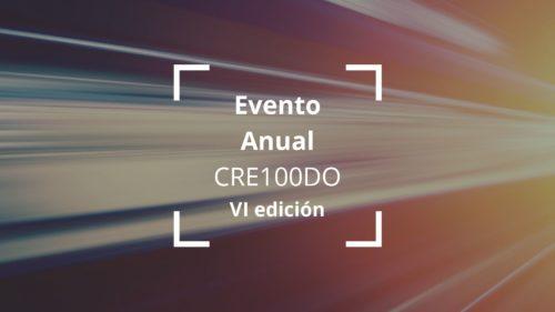 Evento Anual CRE100DO