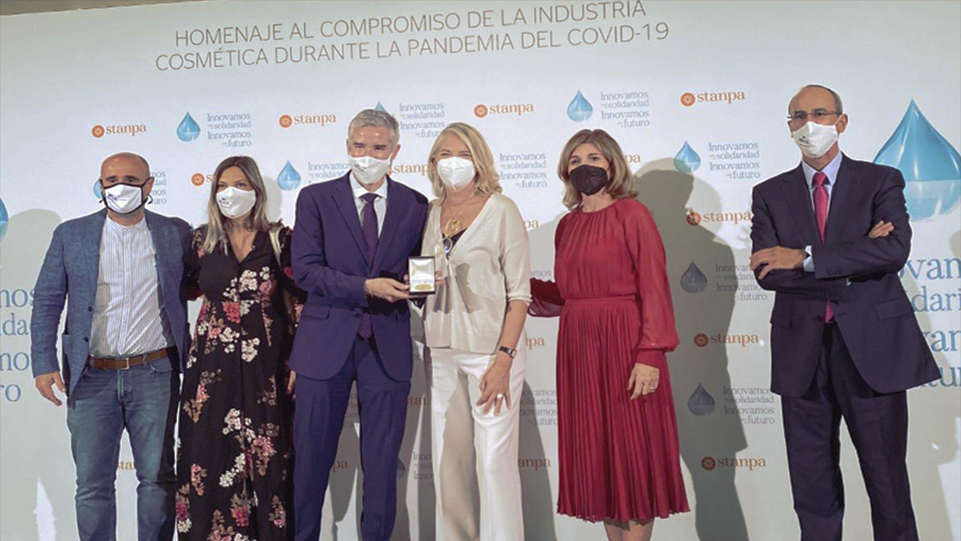 MIXER & PACK recibe la máxima distinción del sector de la perfumería y cosmética en España