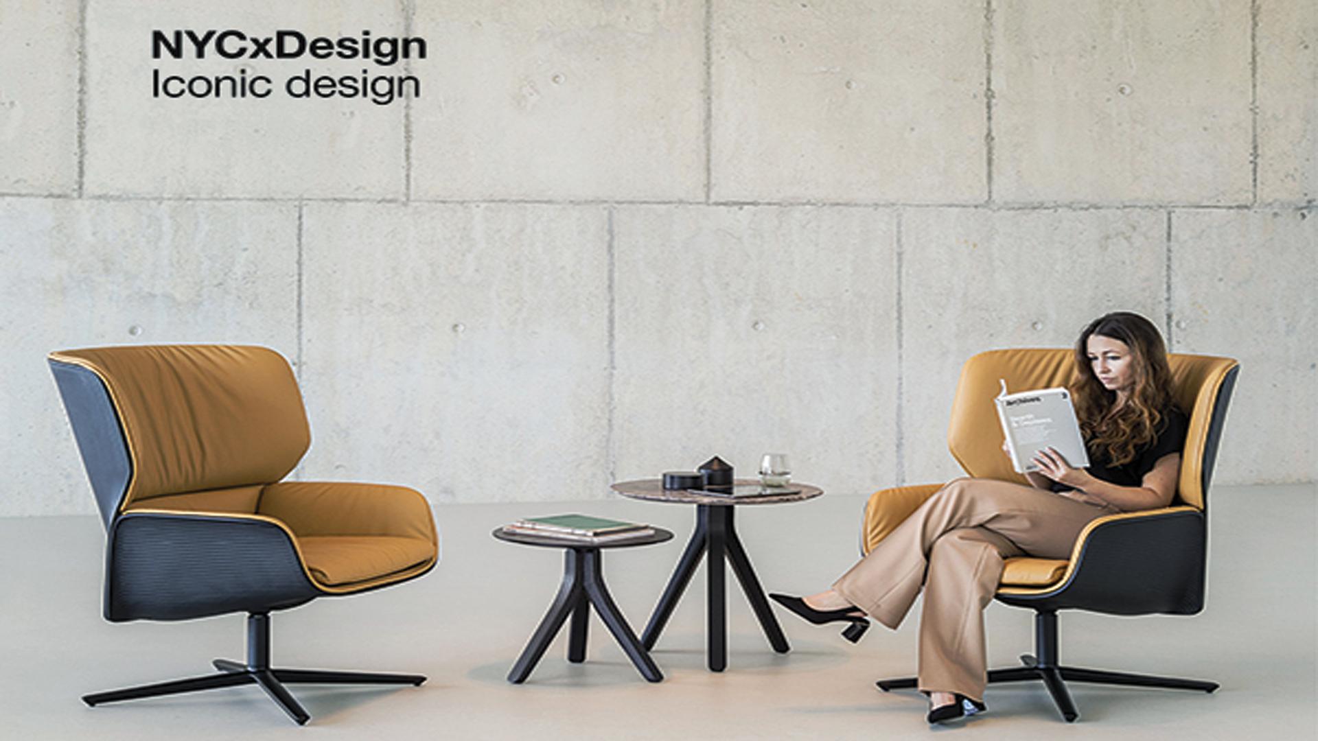 """Nuez Lounge BIO de Andreu World ha sido reconocido como el mejor """"Diseño Icónico"""" en los Premios NYCxDESIGN"""
