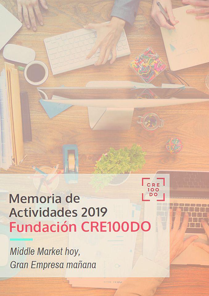 Memoria Actividades 2019 - Fundación CRE100DO